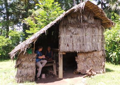 Op bezoek bij arme weduwe