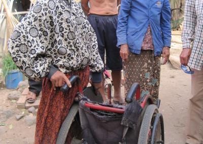 Ook zorgt Spie-en voor enkele gehandicapte weeskinderen
