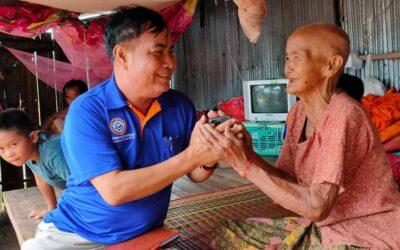 Dhr. Soeurn van Spien in Cambodja overleden